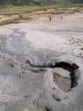 The Berca Mud Volcano in Buzau, Romania Royalty Free Stock Photos