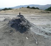 Berca Mud Volcanoes Royalty Free Stock Photos