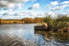 Berceau de Kinderdijk photo stock