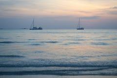 Berceau de la mer, mon amour n'importe qui vous m'aimez Images libres de droits