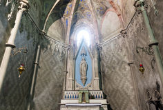 Bercelli, iglesia de Sant'Andrea Imagen de archivo