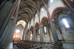 Bercelli, kerk van Sant'Andrea Royalty-vrije Stock Fotografie