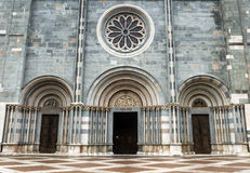 Bercelli, kerk van Sant'Andrea Stock Afbeeldingen