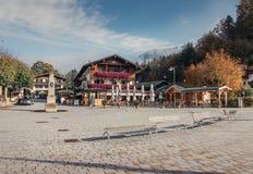 berchtesgaden德国 库存照片