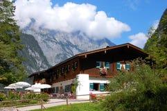 berchtesgaden немецкий берег озера koenigsssee ближайше Стоковое фото RF