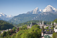 Berchtesgaden stock photo