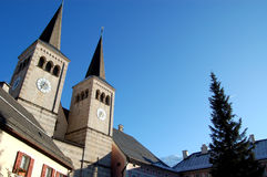 Berchtesgaden church exterior Royalty Free Stock Images