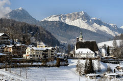 Berchtesgaden en Untersberg Stock Afbeeldingen