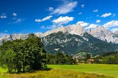 Berchtesgaden fjällängar, Österrike Royaltyfri Fotografi