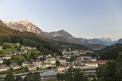 Berchtesgaden in Germany, 2015 Royalty Free Stock Images