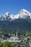 Berchtesgaden i Bayern, Tyskland Arkivfoton