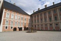 Berchtesgaden Königliches Schloà - König Palace Stockfotografie