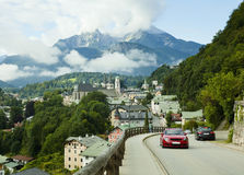Berchtesgaden landscape in Alps Royalty Free Stock Image