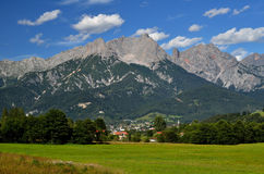 Berchtesgaden mountains in Austria Stock Images