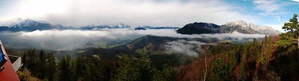 Berchtesgandener-Земл-панорама стоковая фотография rf