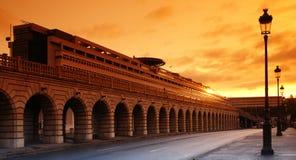 Bercybrug van Parijs Stock Fotografie