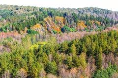 `Berd rocks` - nature monument of regional value Stock Image