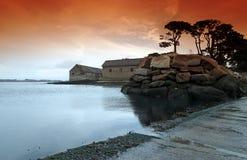 Berder island in Gulf of Morbihan Royalty Free Stock Photo