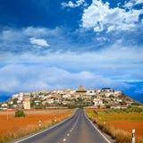 Berdun in Huesca Aragon Pyrenees of Spain Stock Images