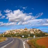 Berdun in Huesca Aragon Pyrenees of Spain Royalty Free Stock Images
