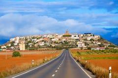 Berdun in Huesca Aragon Pyrenees of Spain Stock Photos