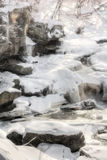 Berea Falls In Winter Royalty Free Stock Photos
