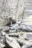 Berea tombe en hiver photos stock