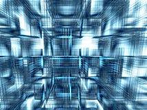 Berechnet Hintergrundes - erzeugten Bildes der Zusammenfassung digital Lizenzfreie Stockfotos