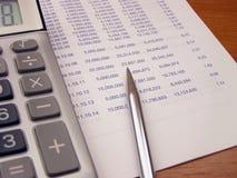 Berechnung Lizenzfreie Stockfotos