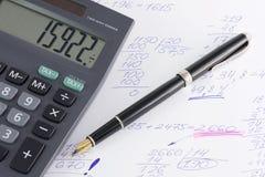 Berechnung Lizenzfreies Stockbild