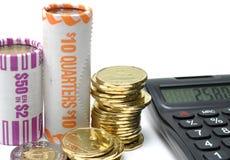 Berechnung Ihres Geldes Lizenzfreie Stockfotos