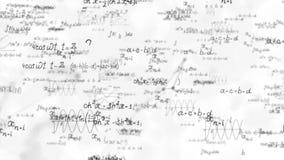 Berechnungshintergrund der mathematischen Formel lizenzfreie abbildung