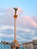 Berehynia monument. Kiev, Ukraine Royalty Free Stock Images