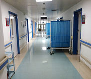 Bereich des stationären Patienten Stockfoto