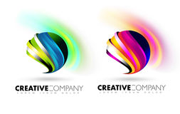 Bereich-Logo Lizenzfreies Stockfoto