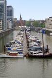 Bereich Reynauhafen in Köln Lizenzfreie Stockfotografie