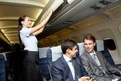 Bereidheid voor vlucht royalty-vrije stock foto's