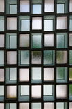 Bereifte Glaswand Lizenzfreies Stockfoto