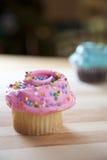 Bereifte kleine Kuchen lizenzfreie stockfotos