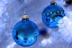 Bereiftes Weihnachten Stockfotos