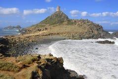 Bereisen Sie de la Parata, Ajaccio, Korsika, Frankreich Stockbild