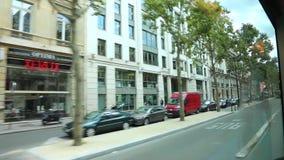 Bereisen Sie die Straßen von Paris - volles HD-Video stock video footage