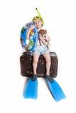 Bereiten Sie auf Ferien vor Lizenzfreie Stockfotos