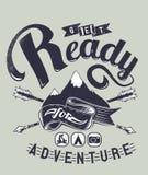 Bereiten Sie für Abenteuer vor Lizenzfreies Stockbild