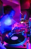 Bereiten Sie für DJ vor Lizenzfreies Stockbild