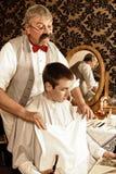 Bereiten Sie für eine Rasur vor Stockfotografie