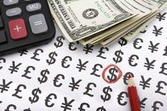 Bereiten Sie für Geschäft vor (US-Dollars) Lizenzfreie Stockbilder