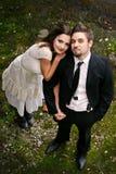 Bereiten Sie für Hochzeit vor Stockfoto