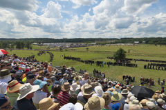 Bereiten Sie für Krieg in Gettysburg vor stockbilder