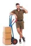Bereiten Sie für Lieferung vor Lizenzfreie Stockbilder